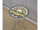 Стол украшенный мозаикой Каприз_4 d50 купить