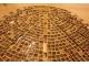 Кованый стол с мозаикой Лучи удачи_3 d50 купить