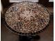 Кованый столик с мозаикой Золотая лихорадка_24 d50 купить