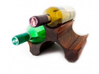 Подставка для бутылок вина 3 (темная)