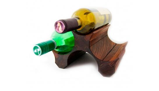 Подставка для бутылок вина 3 (темная) купить