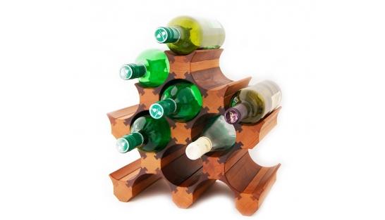 Подставка для бутылок вина 11