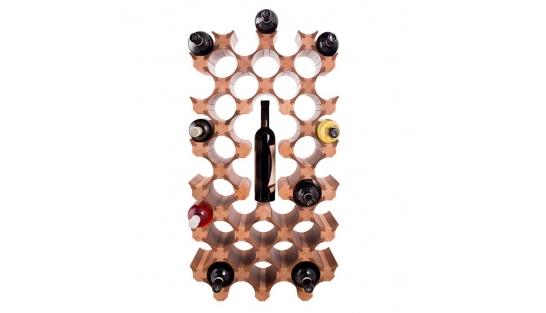 Деревянная полка для винных бутылок 39 купить