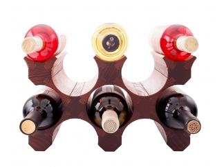 Подставка для бутылок вина 8 (темная) купить