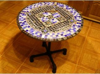 Мозаичный стол Пикассо_2 D70см