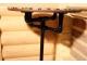 Столик отделанный мозаикой Венский кофе_1 D60см купить