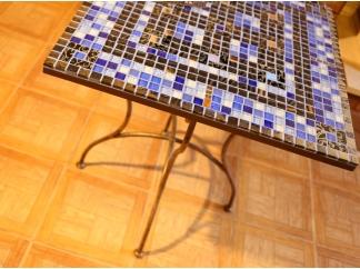 Стол с мозаичной столешницей Квадро_2 70*70см