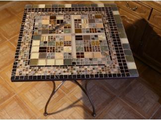 Стол с мозаичной столешницей Квадро_3 70*70см купить