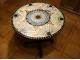 Столик отделанный мозаикой Венский кофе_1 D70см купить