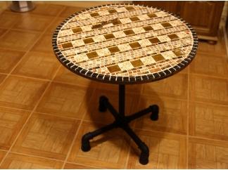 Мозаичный стол Пикассо_4 D70см