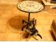 Стол с мозаичной столешницей Пикассо_5 D70см купить