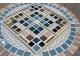 Столик круглый мозаичный Эрика_29 d40 купить