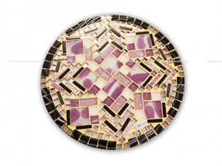 Столик с мозаичной столешницей Эрика_30 d40 купить