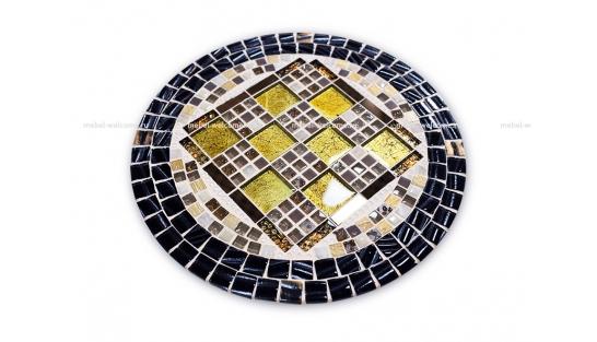 Стол с мозаичной столешницей Пикассо_2 d40 купить