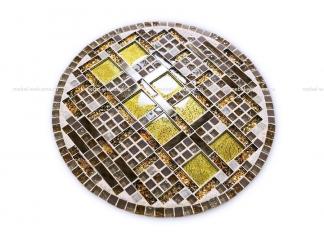 Круглая столешница мозаика Пикассо_1 d40