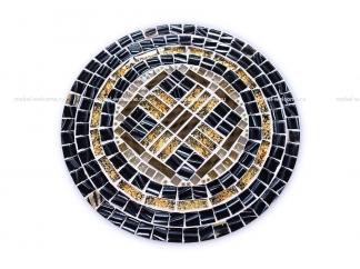 Кованый стол с мозаикой  Пикассо_3 d40