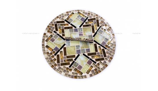 Кованый стол с мозаикой