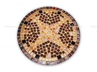Кованый стол с мозаикой Эрика_9 d40 купить