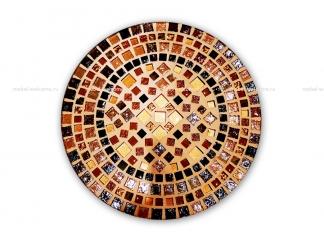 Стол украшенный мозаикой Эрика_1 d38 купить
