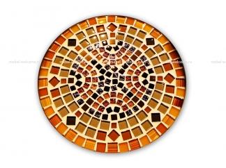Стол украшенный мозаикой Эрика_2 d38 купить