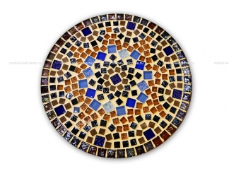 Кованый стол с мозаикой Эрика_3 d38 купить