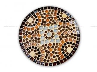 Кованый стол с мозаикой Эрика_4 d38 купить