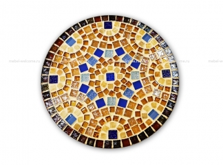Круглая столешница мозаика Эрика_5 d38