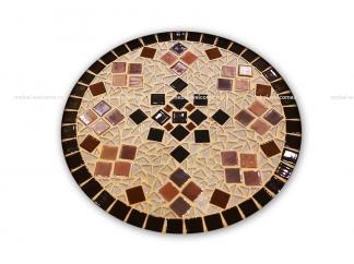 Столик круглый мозаичный Эрика_7 d40