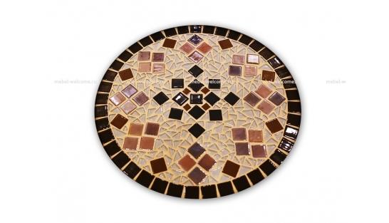 Столик круглый мозаичный Эрика_7 d40 купить