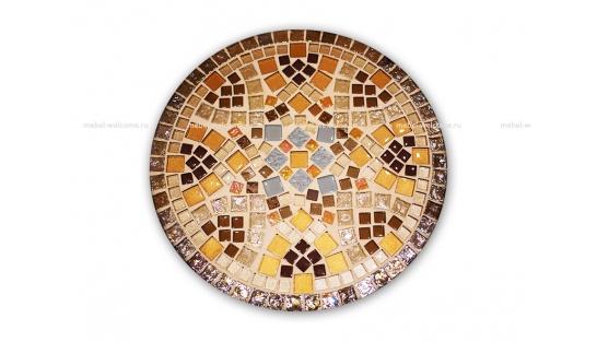 Круглая столешница мозаика Эрика_10 d40 купить