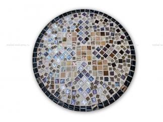 Стол обеденный с мозаикой Элиза_10 d50