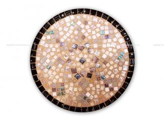 Столик круглый мозаичный Эрика_19 d40