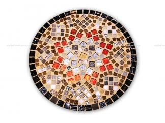 Кованый стол с мозаикой Эрика_20 d40