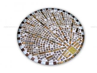 Журнальный стол мозаика Лучи удачи_1 d50