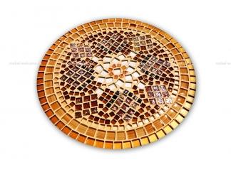 Журнальный столик мозаика Элиза_2 d50 купить