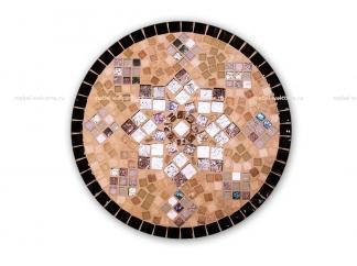 Журнальный столик мозаика Элиза_4 d50 купить