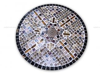 Журнальный столик мозаика Элиза_11 d50 купить