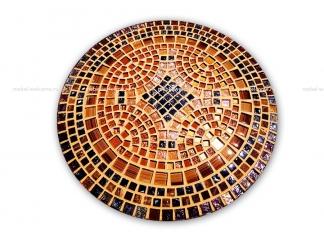 Стол круглый мозаичный Венский кофе_2 d50 купить