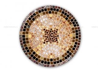 Стол круглый мозаичный Венский кофе_3 d50 купить