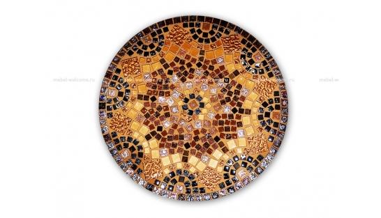 Стол круглый мозаичный Венский кофе_4 d50 купить