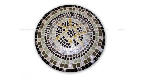 Стол украшенный мозаикой Каприз_1 d50 купить