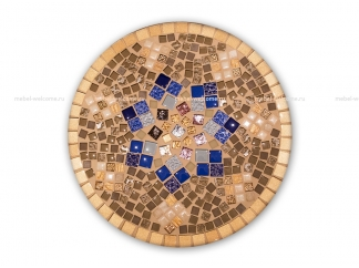 Журнальный стол мозаика Эрика_13 d40