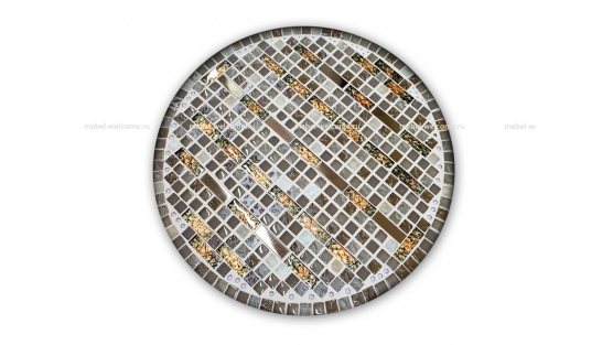Журнальный стол мозаика Эрика_25 d40 купить