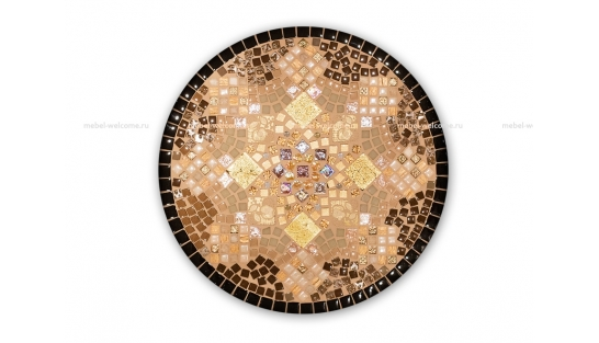Кованый столик с мозаикой