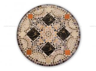 Стол обеденный с мозаикой Luxury_2 d60