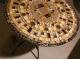 Столик отделанный мозаикой Венский кофе_2 D70см купить