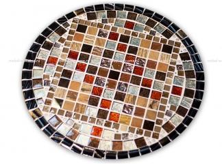Круглая столешница мозаика Эрика_24 d40 купить