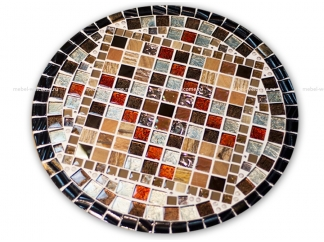 Круглая столешница мозаика Эрика_24 d40