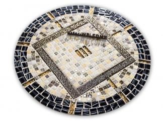 Круглая столешница мозаика Пикассо_2_мини_d50