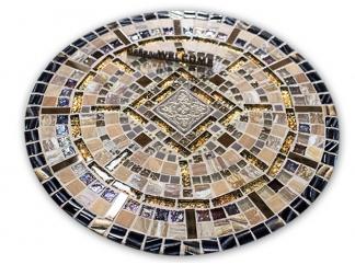 Круглая столешница мозаика Пикассо_1_мини_d50 купить